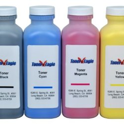 Canon Imageclass 8180C Mf8170C Mf8180C 4-Color Toner Refill Kit With Chips. 610Gr. By Toner Eagle