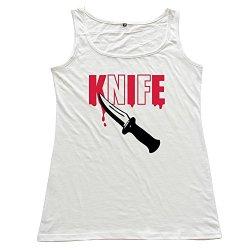 White Knife Designer Top For Womens Size S