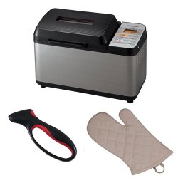 Zojirushi Bb-Pac20 Home Bakery Virtuoso Breadmaker + Jokari Deluxe Ultimate Knife Sharpener With Comfort Grip + Accessory Kit
