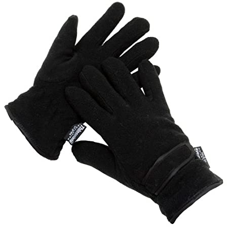 Be sure to stay warm and cosy this winter with our fantastic ladies  Thinsulate gloves. These very warm, comfortable gloves are made from  fleecy material and have a fleece lining with 40g Thinsulate insulation  and elasticated cuffs with velcro str...