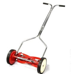 American Lawn Mower 1304-14 14-Inch Economy Push Reel Lawn Mower With T-Style Handle And Heat Treated Blades