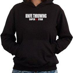 Super Star Knife Throwing Women Hoodie