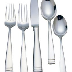 Waterford Conover 18/10 Stainless Steel 65-Piece Flatware Set With Chest, Service For 12