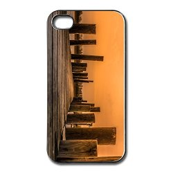 Fashion Waterproof River Sunset Apple Iphone 4 Cover