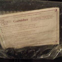 The Pampered Chef Garnisher Cutter Chop Kitchen Utensil 1061