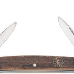Hen & Rooster Knives S114Ds Congress Pocket Knife With Genuine Stag Handles