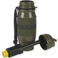 Ndur 28Oz Flip Top Olive Filtration Bottle