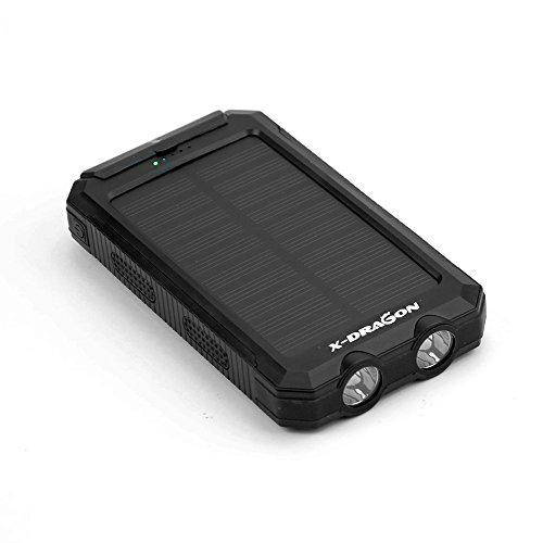 Solar-Charger-X-DRAGON-Portable-10000mAh-2-LED-Light-Dual-USB-Solar-Battery-Charger-for-iPhone-iPad-iPod-Cell-Phone-Tablet-CameraBLACK