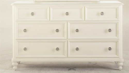 Image of Pulaski Build-A-Bear Pawsitively Yours Kids Double Dresser in Vanilla (B001I6QLT4)