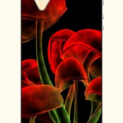 Oofit Phone Case Design With Red Mushroom For Apple Iphone 5 5S 5G
