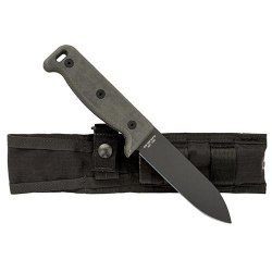 Ontario Knife 7500Pc Sk-5 Bird Noir Knife, Black