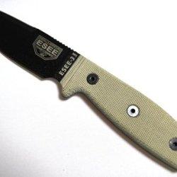 Rat Cutlery Rc-3Mil Plain Edge W Black Blade