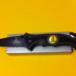 Dont Tread On Me Rescue Knife
