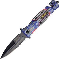 Mtech Usa Ballistics Mt-A800Blc Spring Assisted Folding Knife, 4.75-Inch