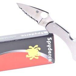 Spyderco Dragonfly C28S Ss Spyderedge Knife