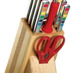 Fiesta Masquerade 11-Piece Cutlery Set With Block