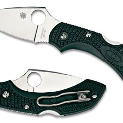 Spyderco Dragonfly2 Brithish Racing Green Frn Zdp-189 Plainedge Knife