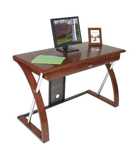 Picture of Comfortable OSP Aurora Computer Desk (B002UNML3O) (Computer Desks)