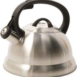 Mr. Coffee 91407.02 Flintshire Stainless Steel Whistling Tea Kettle, 1.75-Quart