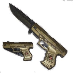 New Ao Green Marines Pistol Knife