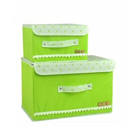 Double Storage Boxes, Household Good Helper -- Storage Boxes, Closet Organizers, Under Bed Organizer, For Clothing, Shoes, Underwear, Bra, Socks