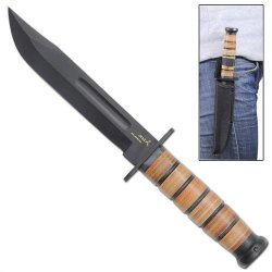 Marines 1045 Steel Survival Knife