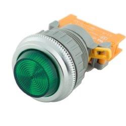 Alpinetech Pln-30 Green 30Mm 120V Ac/Dc Led Pilot Indicator Light