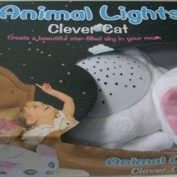 Animal Lights Star Lights Night Lights Clever Cat