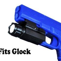 Lumentactical 250 Lumen Quick Release Pistol Led Flashlight /W Strobe For Glock G17, G20, G21, G22, G31, G37, G19, G23, G32, G38 Etc