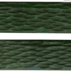 "Green Pick Buffalo Bone Handles Knife Scales (2 Pc) 3"" Long X 1"" Wide X 1/8"""