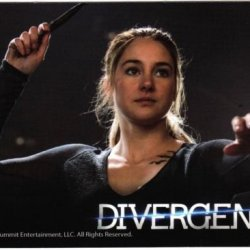 2014 Neca Divergent (Movie) Trading Card #25--The Knife Throwing