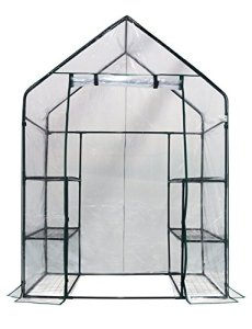 Happy-Planter-Walk-in-3-Tiers-6-Shelves-Portable-Greenhouse-56-x-29-x-77