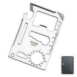 Hotshopping Se Mt908 11 Function Credit Card Size Survival Pocket Tool (5Pack)
