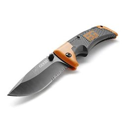 Great Value Knives & Tools Gerber Survival Scout Pocket Knife Silver Gray