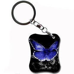 Generic Funny Key Chain Print Butterfly Black Friday Mdf Card Mdf306