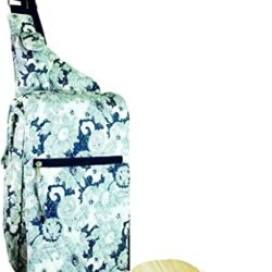 Picnic Gift Pinot Paisley Insulated Two Bottle Wine & Cheese Pack