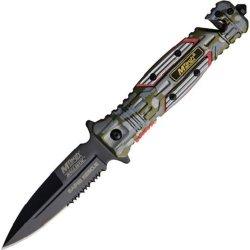 Mtech Usa Ballistics Mt-A800Gnc Spring Assisted Folding Knife, 4.75-Inch