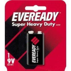 Eveready Super Heavy Duty Battery 9 V Blister Pack 1