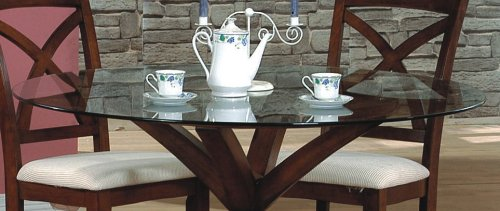 Image of 54-Inch Round Beveled Glass Table Top - Coaster CB54RD (VF_CB54RD)