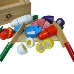 Saku Tto Kireru Playing House Wooden Box Full Set