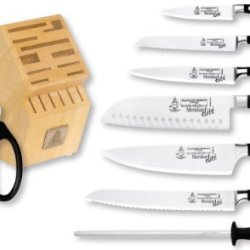 Messermeister Meridian Elite 9-Piece Knife Block Set