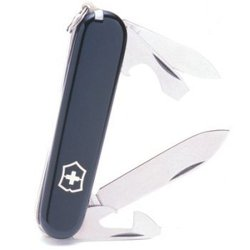 Victorinox Swiss Army Recruit Pocket Knife (Black)