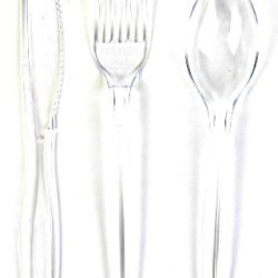 Good Living 54 Piece Plastic Cutlery Set