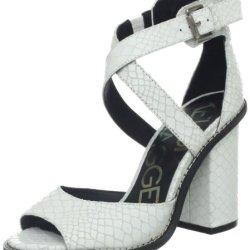 Kelsi Dagger Women'S Blanca Sandal,White,7.5 M Us
