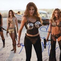 Machete Kills Star Alexa Vega & Sofia Vergara Signed 8X10 Photo In-Person Hot