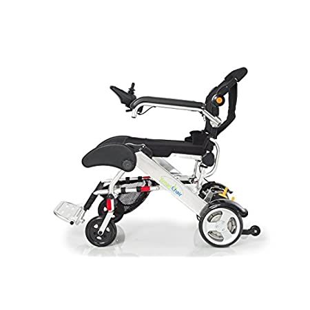 We call it the Smart Chair due to it's low maintenance, light weight and because it is so easy to fold and take anywhere. Weighing only 50 lbs, the Smart Chair is the most convenient, innovative and portable power wheelchair on the market. It's easy ...