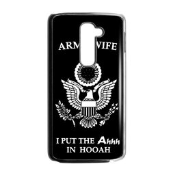 Jdsitem Unique Proud Army Wife Design Case Cover Sleeve Protector For Phone Lg G2 (Fit For Phone At/T)