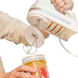 Peanut Butter Mixer Lid For 3 Inch (77 Mm) Diameter Jars