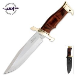 Hibben Karate Fighter Fixed Knife With Sheath