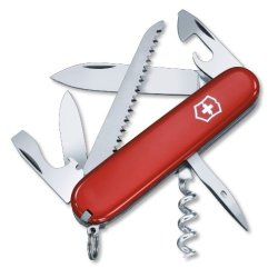 Victorinox Swiss Army Pocket Knife - Camper - 13 Functions